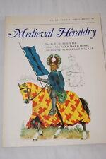 MEDIEVAL HERALDRY-OSPREY WISE HOOK WALKER MOYEN AGE ARMES PRINT GRAVURES