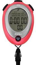 dretec stopwatch timer silencing countdown alarm SW-119PK pink