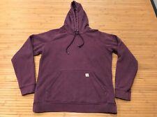 WOMENS SMALL (4-6) -  Carhartt WK184 Hooded Sweatshirt Hoodie