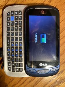 rLG Xpression C410 - Blue (AT&T) Cellular Phone Box Not Working
