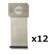 (12) Airplus Vacuum Bags for Electrolux Upright Vacuums 4 Ply Allergy