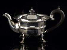 Sterling Silver Pie Crust Edge Teapot Birmingham 1925