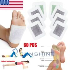 Detox Foot Pads (60 Pcs) Body Patch For Cleansing Toxins Health Care Weight Loss