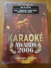 // NEUF ** DVD Karaoké awards 2006 ** CARAVANE CANDY SHOP DION BLUNT NOAH