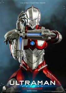 1/6 ULTRAMAN SUIT Anime Version Altman Figure Threezero 3A 3Z0129 Collectible