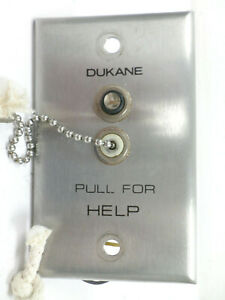 VINTAGE DUKANE Medical Pull For Help Unit 9A1405 *HARD TO FIND*