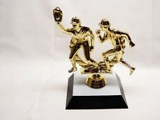HOME PLATE BASEBALL DOUBLE PLAY TROPHY PERSONALIZED