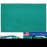PVC Cutting Mat A1 Durable Self-Healing Cut Pad Patchwork Tools Handmade A  US