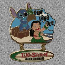 Lilo  & Stitch Aloha Breakfast  Pin - Annual Passholder Dining Series - DISNEY