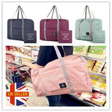 UK Folding Shoulder Shopping Handbag Waterproo Reusable Beach Storage Travel Bag