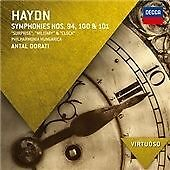 "Haydn: Symphonies No. 94 ""Surprise"", No. 100 ""Military"", No. 101 ""The Clock"" (20"