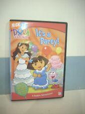 DORA THE EXPLORER - ITS A PARTY DVD