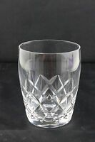 Stuart Crystal Beau Pattern Old Fashioned Tumbler  10cm H x 9cm Ring D SIGNED