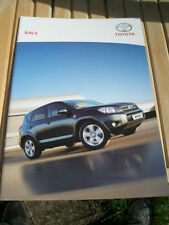 Toyota RAV 4 range brochure Jun 2006 German text