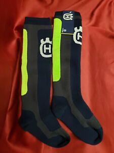 Husqvarna Waterproof Motocross Socks By Sealskinz.   Size-XL