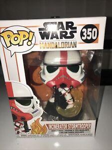 Funko Pop! #350 Star Wars The Mandalorian Incinerator Stormtrooper
