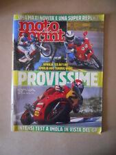 MOTOSPRINT n°19 1988  Test APRILIA 125 AF /1 RR APRILIA 600 TUAREG [MS7]