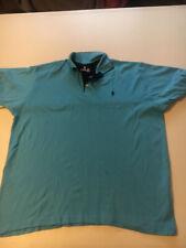Mens RALPH LAUREN Polo Shirt  Blue Top 5xL