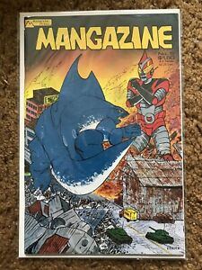 Mangazine #5 Antarctic Press Dec 1986