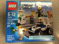 LEGO 7279 Police Minifigure Collection New in sealed box!