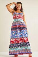 Multi Yumi Curves Patchwork Stripe Jersey Maxi Dress