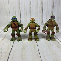 Teenage Mutant Ninja Turtles TMNT LEONARDO,Donatello, and Raphael Figure