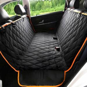 Dog Car Seat Cover with Side Flaps, 100% Waterproof Pet Seat Covers