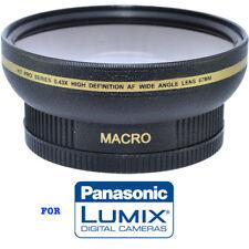 62MM HD 4K 8K PANORAMIC WIDE ANGLE FISHEYE LENS + MACRO LENS FOR LUMIX DC-G9