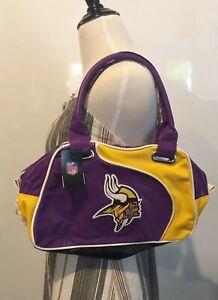 NFL Minnesota Vikings Faux Leather Purse National Football League Official Gear!
