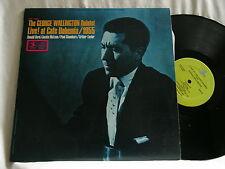 GEORGE WALLINGTON Live Cafe Bohemia 1955 Donald Byrd Jackie McLean Prestige LP