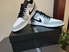 Nike Air Jordan 1 Low Light Smoke Grey/Red - UK 10 (US 11) - New Release