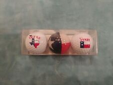 Texas Flag Variety Golf Ball Gift Set