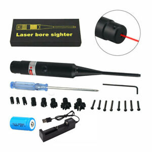 Tactical Red/Green Dot Laser Bore Sight for .177 to .50 Caliber Bore Sighter Kit