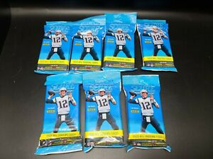 2020 SCORE Football 40 Card Fat Packs 7 Packs Brady Autos, Red Parallels!