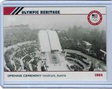 2014 TOPPS OLYMPIC OPENING CEREMONY HERITAGE CARD OH-9 ~ 1964 INNSBRUCK AUSTRIA