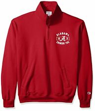 Alabama Crimson Tide Men's Quarter-Zip Jacket, Large