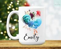 Rooster Mug Rooster Coffee Mug Rooster Gifts Rooster Lover Gifts Rooster Gifts