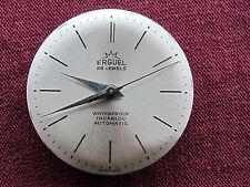 VINTAGE ERGUEL DIAL&MOVEMENT AUTOMATIC  25 JEWELS CAL.FELCA 400N SWISS MADE