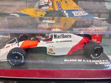 """Minichamps 1/43 Mclaren MP4/5B Gerhard Berger With """"Marlboro"""" sponsor"""