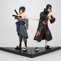 New Hot Sale Naruto Statue PVC Figure Collectible Toy, 2PCs/Set  Sasuke & Itach