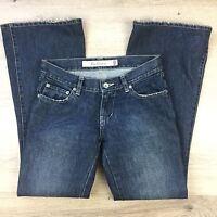 Ben ShermanWomen's Jeans Oxford Hipster Flare Vntg Slate Sz 8 W30 L30.5 (M8)