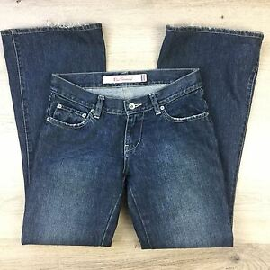 Ben Sherman Women's Jeans Oxford Hipster Flare Vntg Slate Size 8  L30.5 (M8)