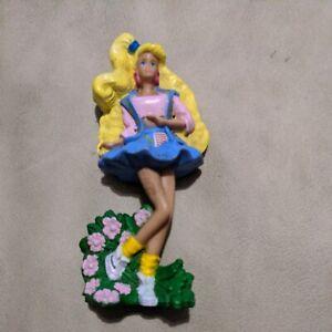 1991 McDonald's Barbie BLONDE BARBIE Figure Happy Meal Toy