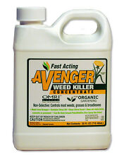 AVENGER Nontoxic Biodegradable Organic Weed Killer Concentrate 32 oz (32 ounce)