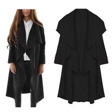 Fashion Women's Slim Long Coat Jacket Trench Windbreaker Parka Outwear Cardigan