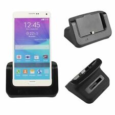 Samsung Galaxy Note 4 Dual Sync USB Docking Station Dock Black Battery Charger