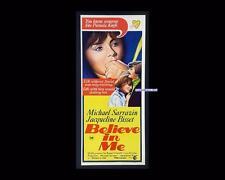 Believe in Me 1971 Sarrazin/Bisset Daybill Original Australian Cinema Poster