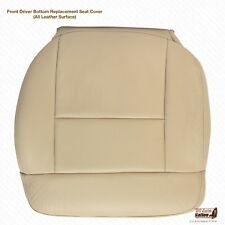 2004 Ford F150 Lariat Driver Bottom Replacement Leather Seat Cover Light Tan