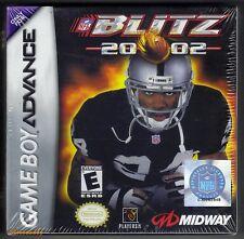 Nintendo Gameboy Advance Game NFL Blitz 2002 Cartridge