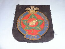 Très rare 1922 Swansea nomades AFC Chiffon Blazer Patch-Welsh Football/Soccer